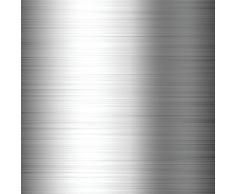 InterDesign Classico Portacravatte e Porta Cinture Verticale in Metallo Cromato con 16 Ganci, Argento