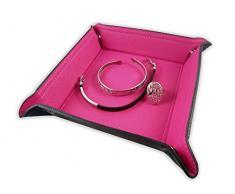 www.taschenleerer.de Jasbana Lifestyle Travel Tray Gentleman' s Valet Tray svuotatasche tasche Svuota Tasche Key Tray