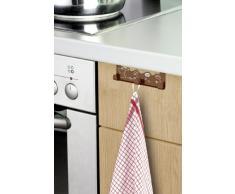 Wenko Coffe Triple 4368230100 - Appendino per cucina e porta