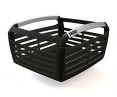 Cestino bicicletta Thule Pack`n Pedal, alluminio nero,39x30x20 cm 2128100100