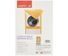 GEMITEX Gemma Telo Coprilavatrice, PVC, Fantasia, 60x60x77 cm