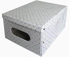 Scatola contenitore in Plastifica Jumby Salvaspazio per indumenti armadio