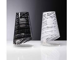 Emporium Pixi Lampada da tavolo, diametro 18 cm, altezza 32 cm, Bianco