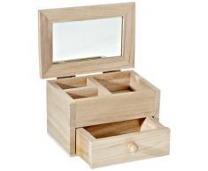 KnorrPrandell 8735425 - Scatola portagioie in legno di pino certificato FSC, 13 x 8,7 x 8,7 cm