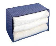 Wenko Contenitore Jumbo-Box Comfort, Materiale Plastico, Polietilene, 53 x 48 x 91 cm, Bianco