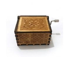 """Carillon in legno puro di Hand of harry potter. Carillon in legno in legno creativo,""""Harry Potter scatola decorativa in legno migliori regali di Natale"""
