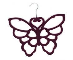Porta-sciarpe/foulard, colore: viola, regalo perfetto per la festa della mamma