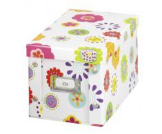 Zeller 17850 Contenitore Kids, Paper, Multicolore, 16.5x28x15.5 cm