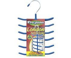 Portacravatte e cinture London a 12 posti antiscivolo