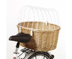 Cesta posteriore da bici con grata L 53 x P 35 x H 43 cm