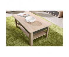 JUSThome Fill Ensemble de meubles de salon Couleur Sonoma Ch?ne / Graphite laqué haute brillance