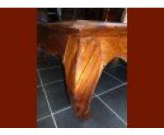 int. d'ailleurs - Table basse opium 120x120x45 - PAL174