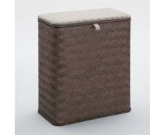 Gedy - Tabouret Coffre Linge HÊTRE Bambou WENGE - Gedy - G-22391900300