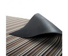 Tapis casa pura® pour intérieur et extérieur Asti | tailles diverses | au mètre - matière très résistante, facile d'entretien | 60x100cm