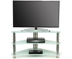 Meuble tv d 39 angle acheter meubles tv d 39 angle en ligne for Etagere d angle murale pour tv