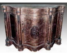 Console style baroque schlagvergoldet moGl0300 commode antique