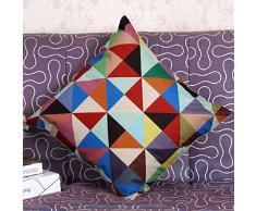 Malloom® Coussin Géométrique Coloré Couvre Coussins Oreillers Décoratifs Décor à La Maison