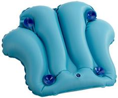 Dr. Winkler 433 - Grand coussin gonflable pour le bain - 4 ventouses - Bleu