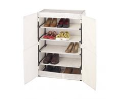Wenko 64010100 Armoire à chaussures, ca. 15 paires 61x32x90 cm Butterfly