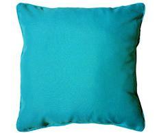 Douceur dIntérieur Essentiel Coussin - Fibres Divers - Bleu - 40 x 40 cm