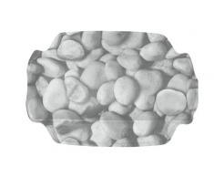 Kleine Wolke 4387189008 Coussin pour baignoire Stepstone Gris 32 x 22 cm