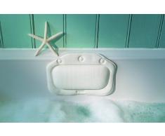 Croydex Oreiller de bain Croydelle Blanc uni