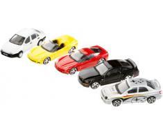 May Cheong Group - 30005 - Véhicules Miniature - Coffret 5 Voitures - Métal Burago - Echelle 1:43 - modèles et Coloris aléatoire