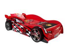 Vipack SCNS200R Night Speeder Lit Voiture pour Enfant MDF Rouge 229 x 110 x 60 cm