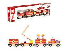 Janod - J08540 - Véhicule Miniature - Story - Train Pompiers