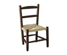 Chaise pour enfant en hêtre - marron