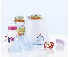 CyBaby - Chauffe-biberon / chauffe-repas pour bébé, avec presse-agrumes