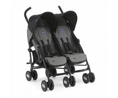 Chicco Poussette Double Echo Coal