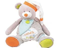 Baby Nat Range Pyjama Oscar lOurson Gris