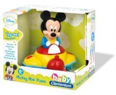 Clementoni Jouet Premier Age - Bébé Disney - Avion Musical De Mickey