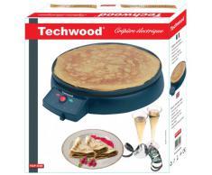 Techwood TCP-930 Crêpière Électrique 35 x 10 x 37,7 cm