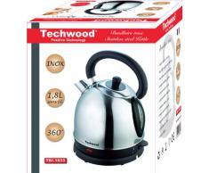 Techwood TBI-1833 Bouilloire Inox Argent 1,8 L
