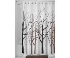 InterDesign 45020EU Forêt Rideau de Douche Polyester Gris/Noir 180 x 180 cm