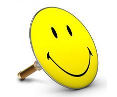 Bath smiley jaune plopp 4500 bouchon pour baignoire