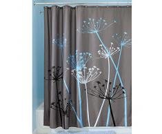 InterDesign 37221EU Rideau de Douche Imperméable Thistle Polyester 183 x 183 cm