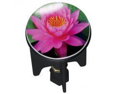 Wenko 21238100 Bouchon de Lavabo Pink Lily Dimensions 4 x 4 x 6,5 cm