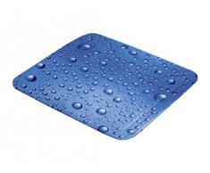 Kleine Wolke 5313769002 Bubble Tapis de Douche Antidérapant Bleu 55 x 55 cm