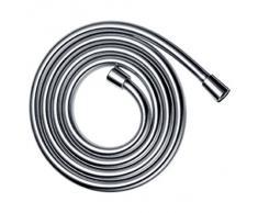 Isoflex 28276800 7916426 Isiflex Tuyau de douche avec écrous coniques effet acier inoxydable DN 15 (1/2) x 1600 mm