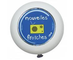 Incidence Nouvelles fraiches Radio de douche Bleu