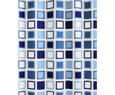 Kleine Wolke 5209723305 Clipper Rideau de Douche Bleu 180 x 200 cm