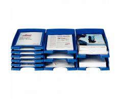 Leitz Plus - Corbeille à courrier jumbo 103mm - Bleu foncé