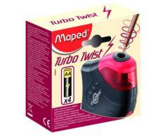 Maped 026031 Taille-crayon électrique Noir/Rouge