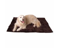 @Pet Coperta per Cani DeLuxe 122x80 cm Marrone 18090