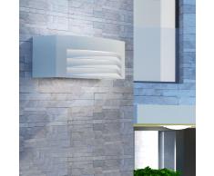 vidaXL Lampada da esterno per parete in alluminio