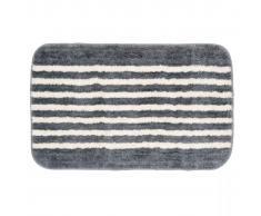 Sealskin Tappetino da bagno Strisce 50 x 80 cm grigio 294385414