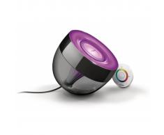 Philips PHILIPS LIC Lampada da tavolo Iris nera, Illuminazione decorativa